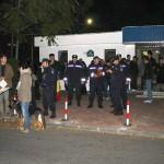 Jandarmii și protestatarii de la TVR