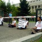 Protestul ReGeneration de la Guvern- foto Ionuț Ruscea