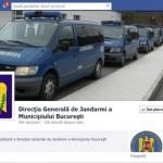 Jandarmeria e pe Facebook, dar nu dă like