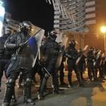 Jandarmeria, la protestele din București