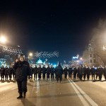 Jandarmii din București, pregătiți să descurajeze protestele