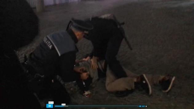 politisti-bataie