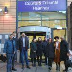 delegatia la curte