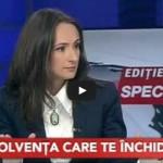 APADOR-CH la Realitatea TV, despre Codul insolvenței