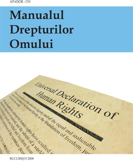 Manualul Drepturilor Omului