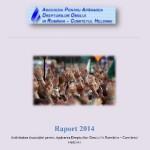 Raportul de activitate APADOR-CH 2014