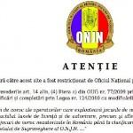 A început oficial cenzura Internetului în România