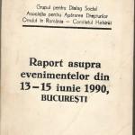 Raportul Mineriada 1990